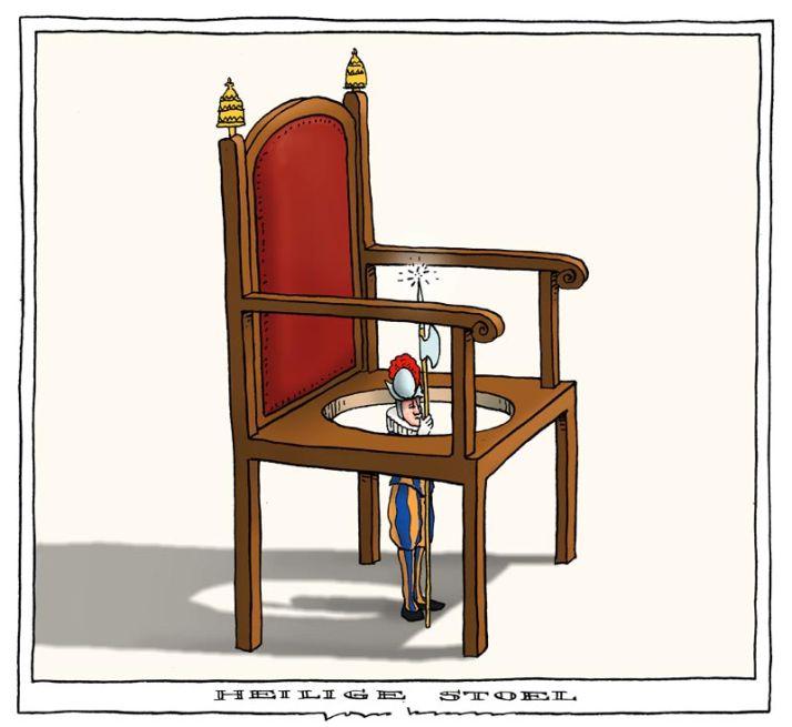 130212 heilige stoel