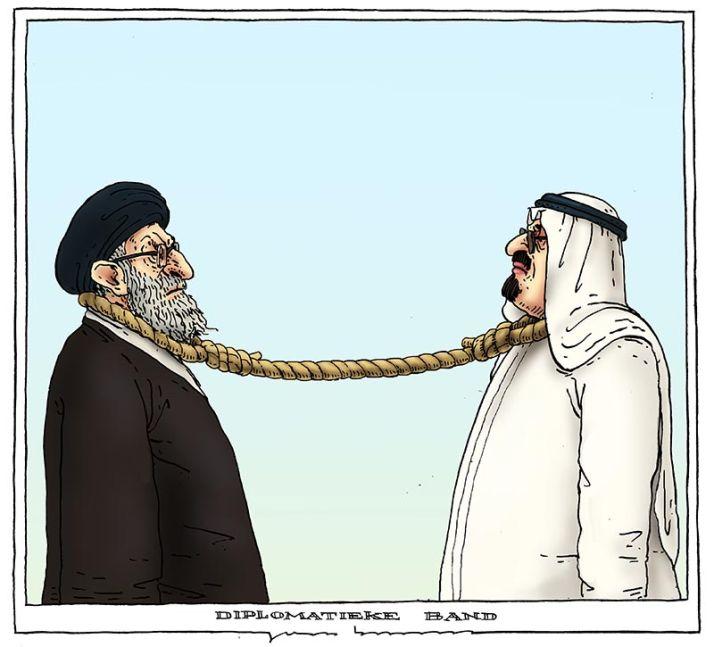 160105 saoedie arabier iran